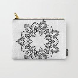 Thai Ornamental Mandala Carry-All Pouch