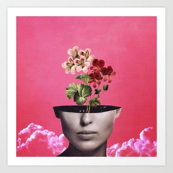 'Imagine That' Art Print