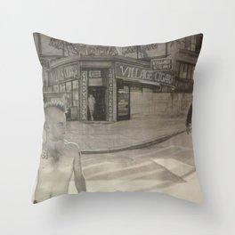 Christopher Street Throw Pillow