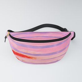 Pink Lava Lines Fanny Pack