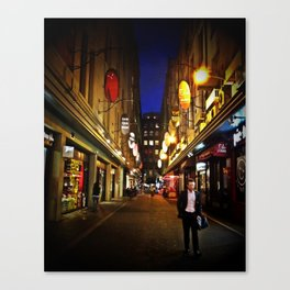 Melbourne Alley Canvas Print
