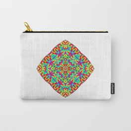 Four Owls Mandala Carry-All Pouch