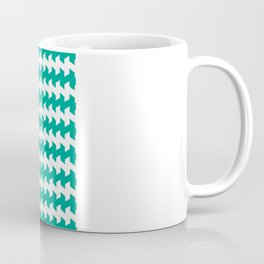 jaggered and staggered in emerald Coffee Mug