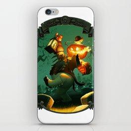 Jack-O-Lantern iPhone Skin