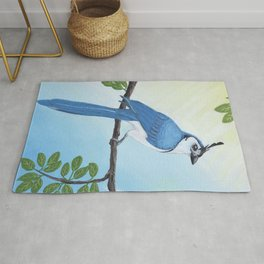 Magpie Jay Rug