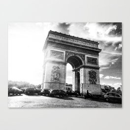 Arc de Triomphe Canvas Print