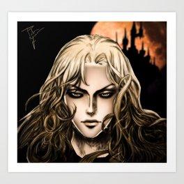 Alucard - Castlevania Art Print