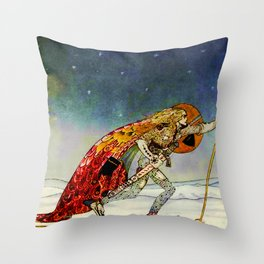 "Kay Nielsen Fairy Tale Art from ""East of the Sun"" Throw Pillow"