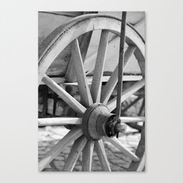 Wagenrad Canvas Print
