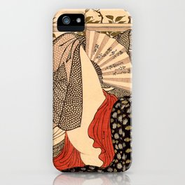 Lovers in an Upstairs Room iPhone Case