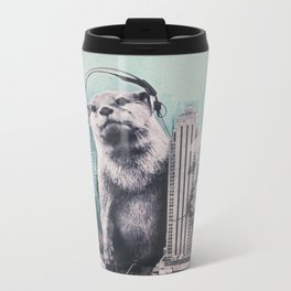 DJ Metal Travel Mug