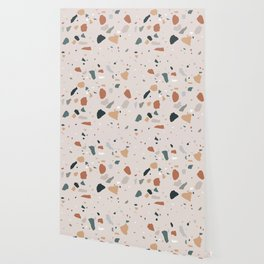 Terrazzo - Earth Tones Wallpaper