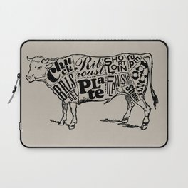 Cow Cuts Laptop Sleeve