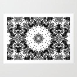 Star Symmetry Art Print