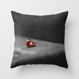 LadyBird Loving Throw Pillow