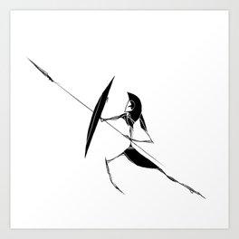 The Warrior Art Print