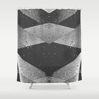 wwe Shower Curtains featuring Abstract by eARTh