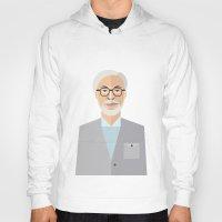 miyazaki Hoodies featuring Hayao Miyazaki by monscribbles