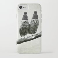 owls iPhone & iPod Cases featuring Owls by Juste Pixx Designs