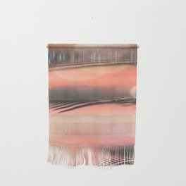 Sunset on Water Wall Hanging