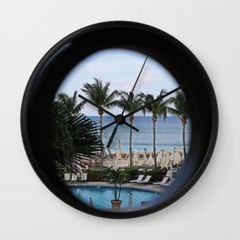 Secluded Questions Wall Clock