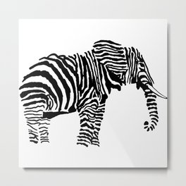Elephant Canvas Print Metal Print