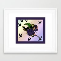 witch Framed Art Prints featuring Witch by Art-Motiva
