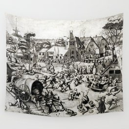 The Fair of Saint George's Day Wall Tapestry