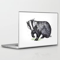 badger Laptop & iPad Skins featuring Badger by ZOO (William Redgrove)