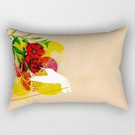 humming Rectangular Pillow