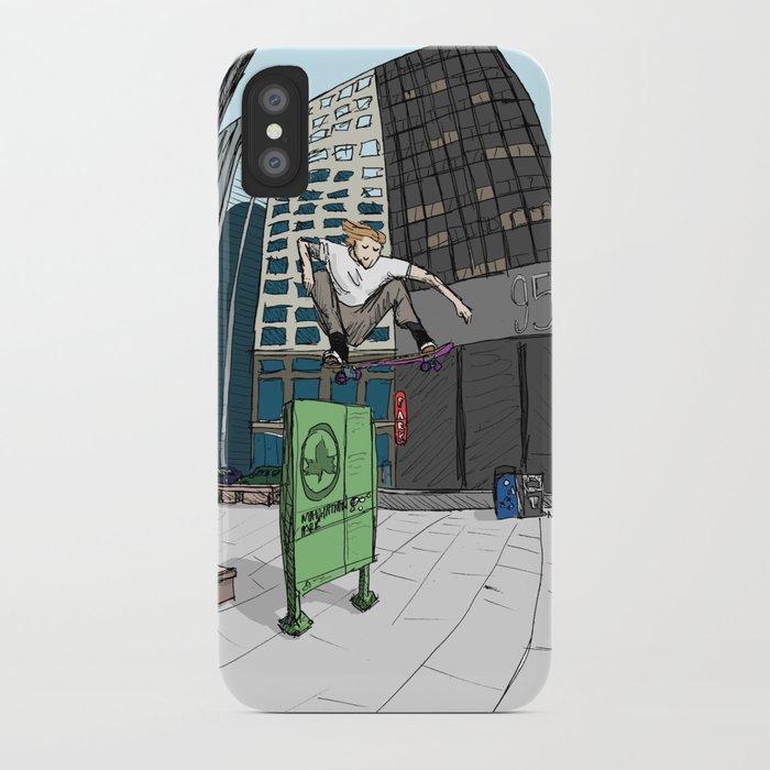 Ollie Over Manhattan Park Iphone Case By Thackshack Society6