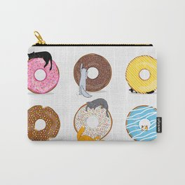 Cats and Donuts Carry-All Pouch