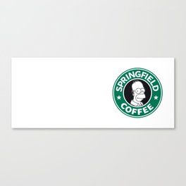 Springfield Coffee Canvas Print
