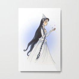 The Snow Queen Metal Print