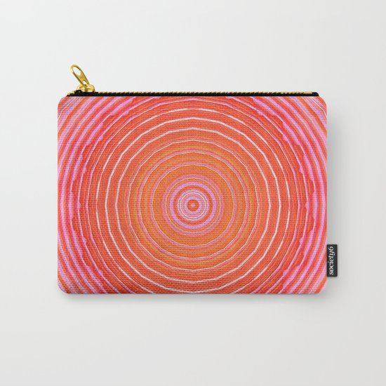 Mandala orange pink Carry-All Pouch