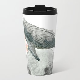 Moon Whale Travel Mug