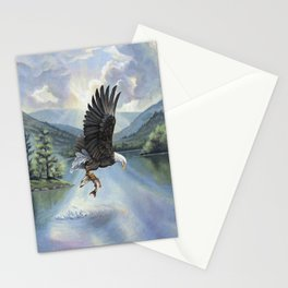Eagle with Fish Stationery Cards