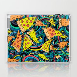 Pizza Meditation Laptop & iPad Skin