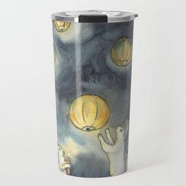 Sky Lanterns Travel Mug