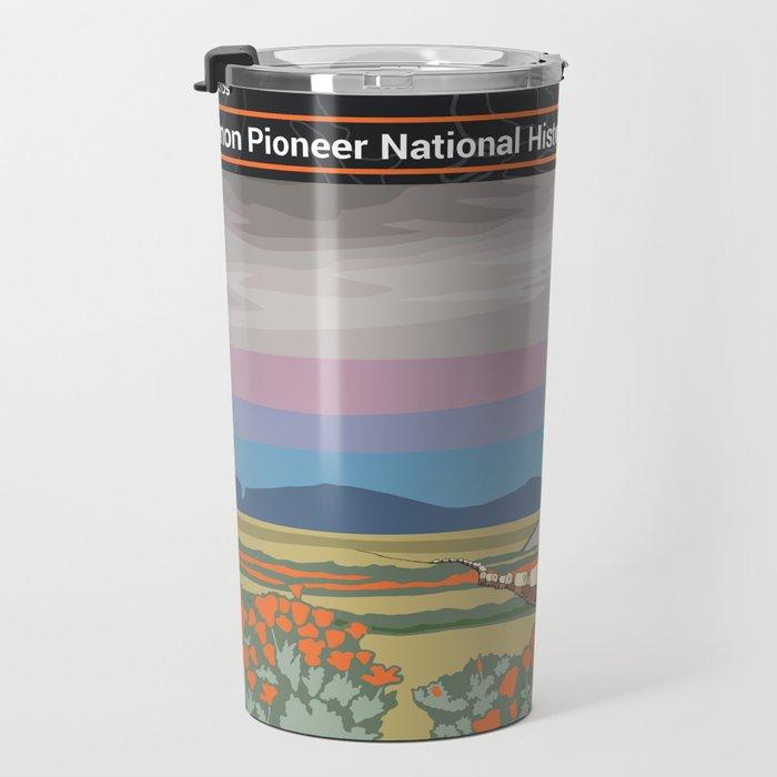 Vintage Poster - Mormon Pioneer National Historic Trail (2018) Travel Mug