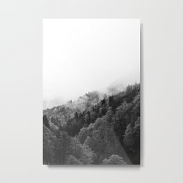 Dreamy mountain Journey Metal Print