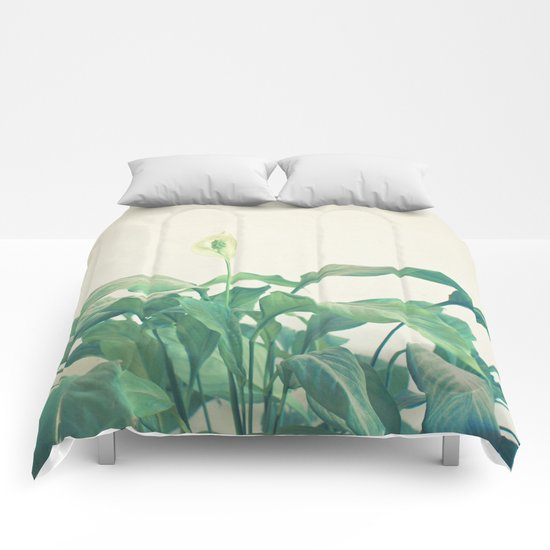 Peace Lily Comforters