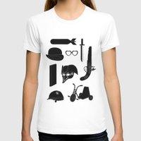 kubrick T-shirts featuring 2011: A Kubrick Odyssey by Florent Bodart / Speakerine