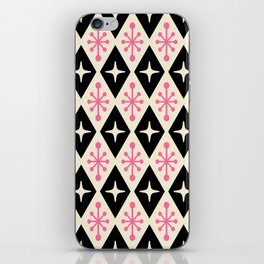 Mid Century Modern Atomic Triangle Pattern 113 iPhone Skin