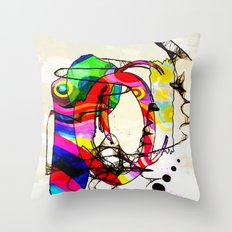 Coco Loco Throw Pillow