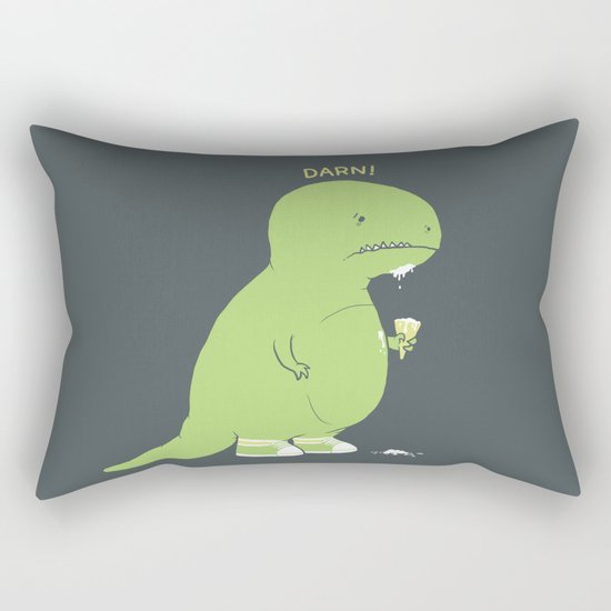 Darn! Rectangular Pillow