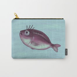 Funny Fish With Fancy Eyelashes Carry-All Pouch