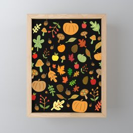 Autumn Design Framed Mini Art Print