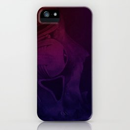 Hot Head Cold Heart iPhone Case