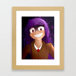 Lovely smile Framed Art Print